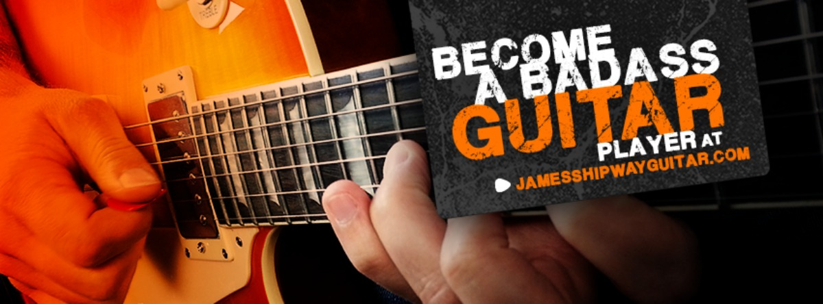 Guitarists! We're all sick of guitar lessons that don't actually teach you anything..