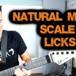 NATURAL MINOR SCALE GUITAR LICKS